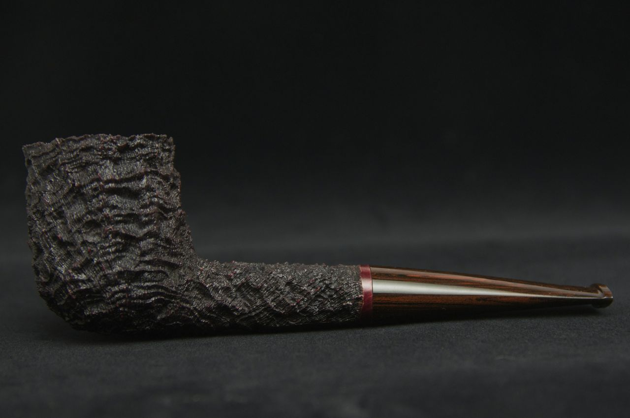 Brian Ruthenberg Carved/Sandblasted Billiard -Picture 1