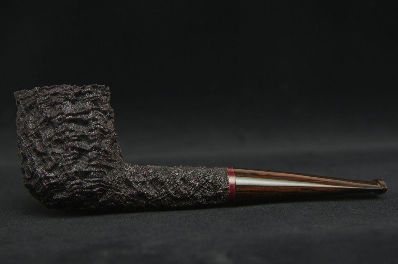 Brian Ruthenberg Carved/Sandblasted Billiard -Picture 1
