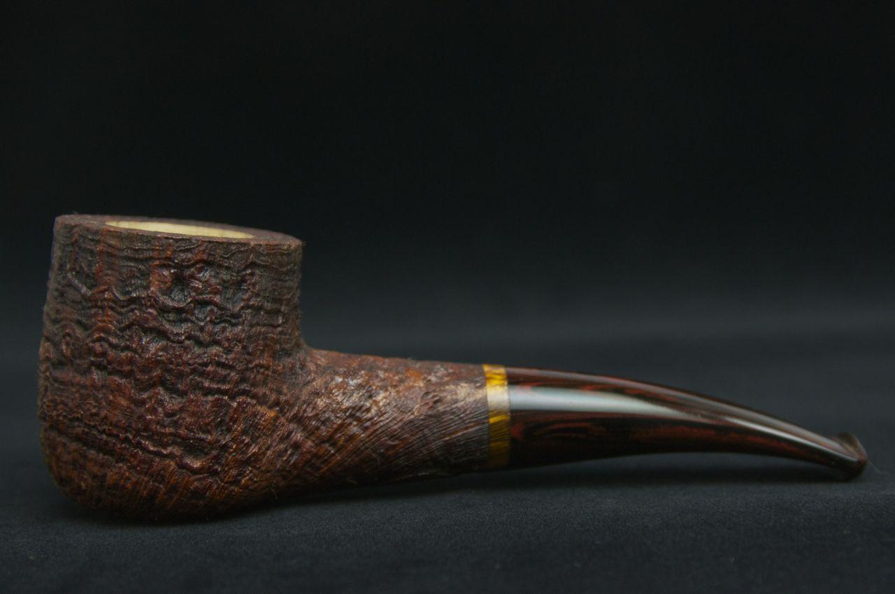 Rad Davis Sandblasted 1/8 Bent Pot -Picture 1